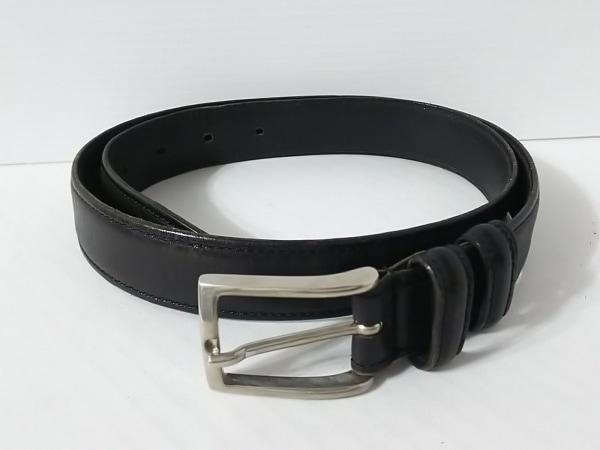 Felisi(フェリージ) ベルト 44-80 44-80 黒×シルバー レザー×金属素材