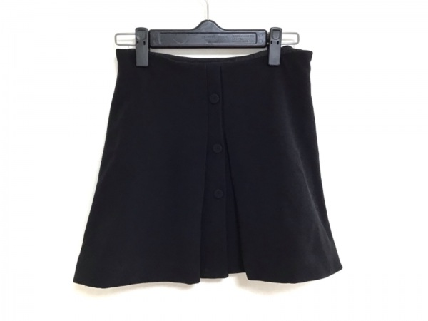miumiu(ミュウミュウ) ミニスカート サイズ36 S レディース 黒