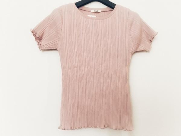 snidel(スナイデル) 半袖カットソー サイズF レディース美品  ピンク