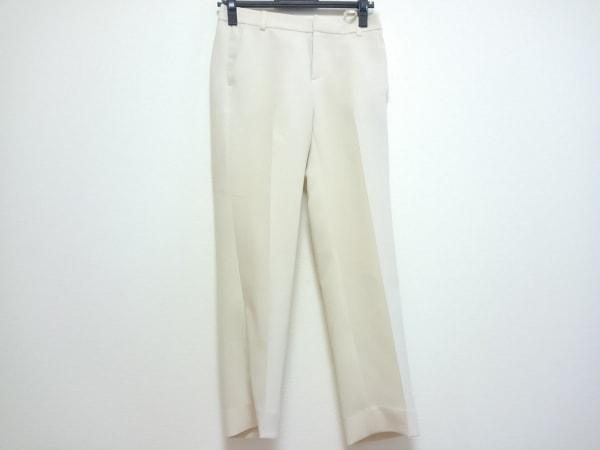 23区(ニジュウサンク) パンツ サイズ32 XS レディース アイボリー