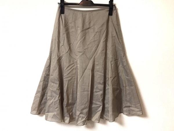自由区/jiyuku(ジユウク) ロングスカート サイズ40 M レディース美品  グレー