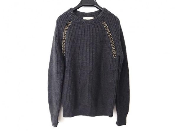 TORY BURCH(トリーバーチ) 長袖セーター サイズXS レディース ダークグレー