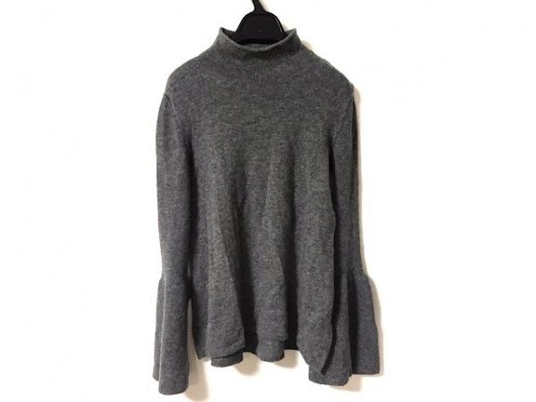 theory(セオリー) 長袖セーター サイズS レディース美品  グレー ハイネック