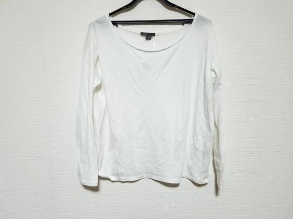 VINCE(ヴィンス) 長袖Tシャツ サイズS メンズ美品  白 ニット