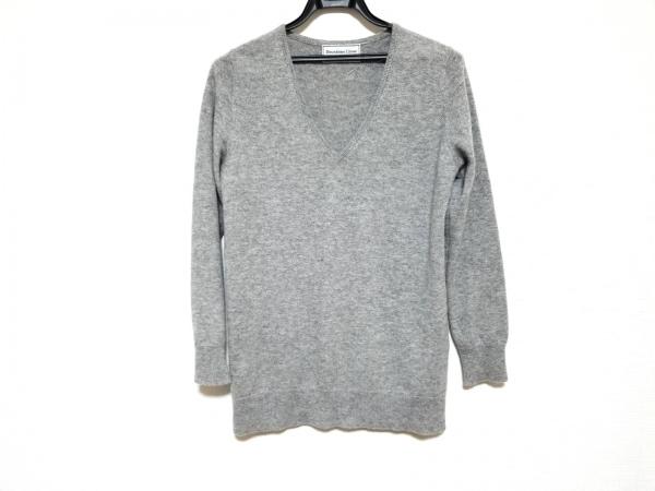 DEUXIEME CLASSE(ドゥーズィエム) 長袖セーター メンズ美品  ライトグレー