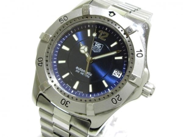 TAG Heuer(タグホイヤー) 腕時計 WK2117-1 メンズ ネイビー