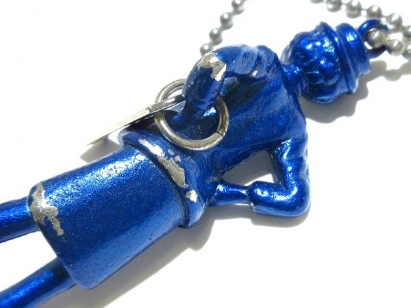 CHANEL(シャネル) ネックレス マドモアゼル 金属素材 シルバー×ブルー HONOLULU 2002