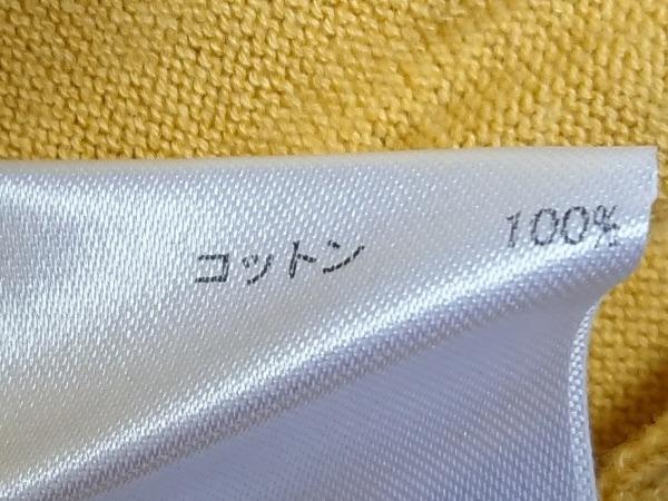 JOCOMOMOLA(ホコモモラ) カーディガン サイズ40 XL レディース イエロー