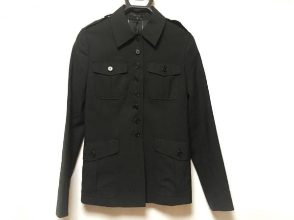 theory(セオリー) ジャケット サイズ2 S レディース美品  黒 肩パッド