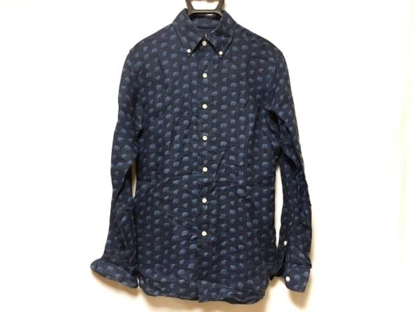 RalphLauren(ラルフローレン) 長袖シャツ サイズXS メンズ美品  ネイビー×ブルー