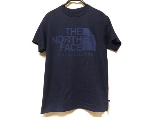 THE NORTH FACE(ノースフェイス) 半袖Tシャツ サイズS メンズ美品  ネイビー