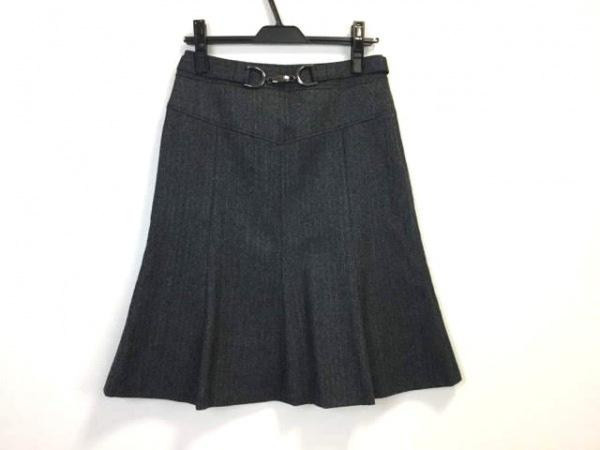 23区(ニジュウサンク) スカート サイズ38 M レディース美品  ダークグレー