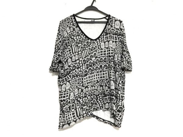 Devastee(ディバステ) 半袖カットソー サイズ36 S レディース美品  黒×白