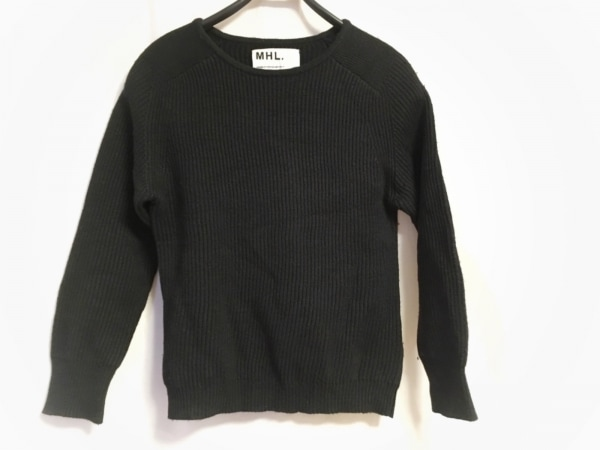 MHL.(マーガレットハウエル) 長袖セーター サイズ2 M レディース 黒