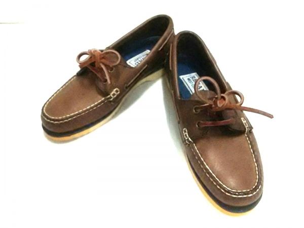 REGAL(リーガル) 靴 23.5 レディース ダークブラウン WEST COAST レザー