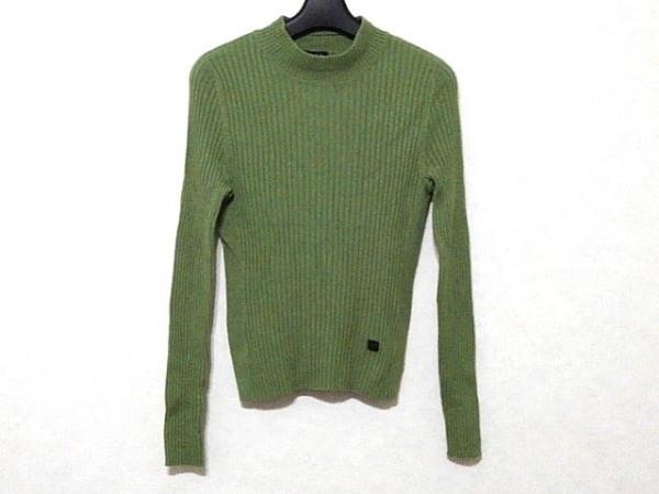 ソニアリキエル 長袖セーター サイズ38 M レディース美品  ライトグリーン ハイネック