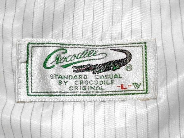 CROCODILE(クロコダイル) ブルゾン サイズL メンズ アイボリー 春・秋物