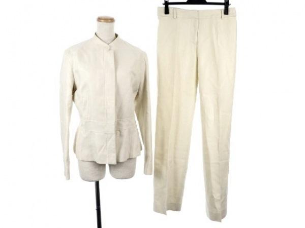 マックスマーラ レディースパンツスーツ サイズ40(J) レディース アイボリー