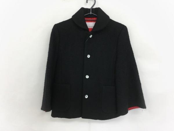 sunao kuwahara(スナオクワハラ) コート サイズS レディース 黒 ショート丈/冬物