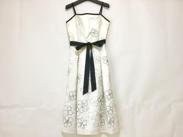 プリフェレンスパーティーズ ドレス サイズ38 M レディース 白×黒×シルバー