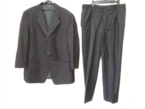 ARMANI(アルマーニ) シングルスーツ メンズ グレー ストライプ
