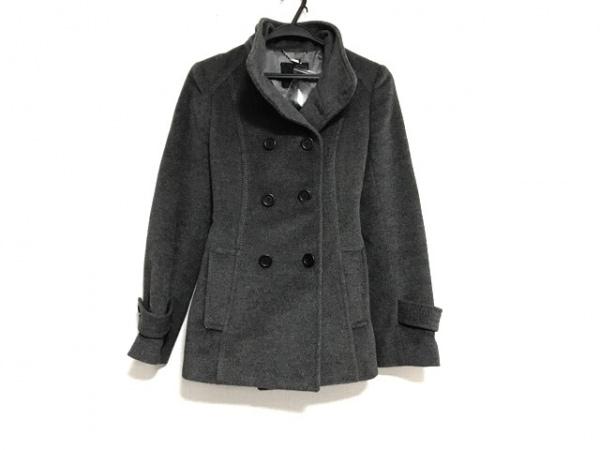 BOSCH(ボッシュ) コート サイズ38 M レディース美品  グレー 冬物/ショート丈