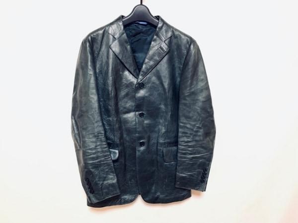 PaulSmith(ポールスミス) ジャケット サイズM メンズ 黒 レザー
