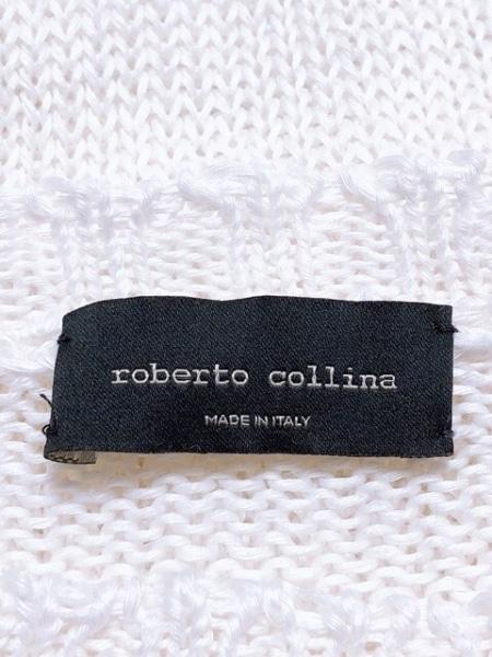 ROBERTO COLLINA(ロベルトコリーナ) 長袖セーター メンズ 白