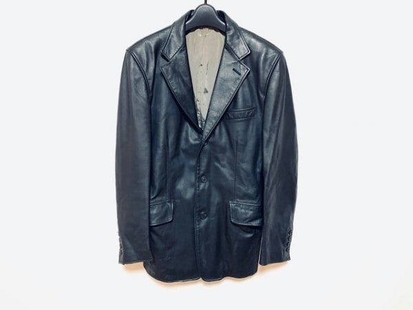 PaulSmith(ポールスミス) ジャケット サイズL メンズ美品  黒 レザー