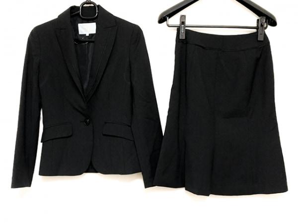 ノールシュド スカートスーツ サイズ36 S レディース美品  チャコールグレー