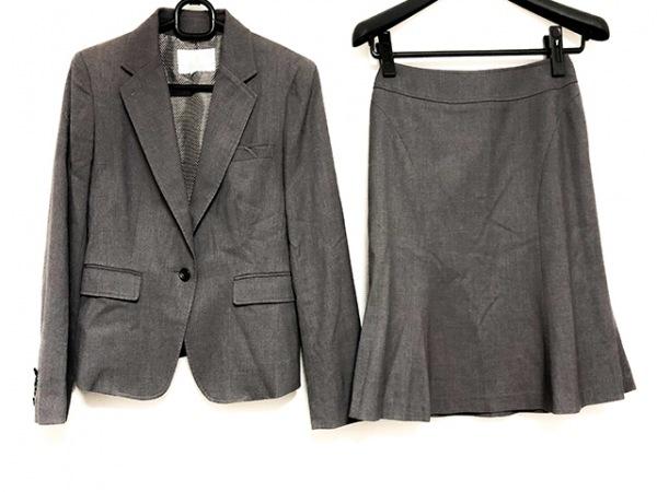 NORD SUD(ノールシュド) スカートスーツ サイズ36 S レディース美品  グレー