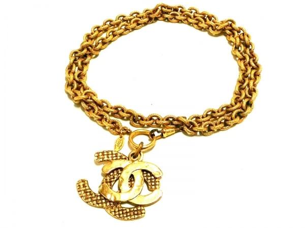 CHANEL(シャネル) ベルト ゴールド チェーンベルト 金属素材