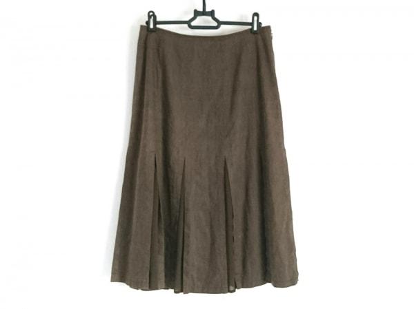自由区/jiyuku(ジユウク) スカート サイズ40 M レディース美品  ダークグレー