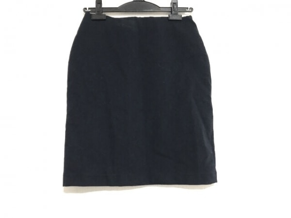 23区(ニジュウサンク) スカート サイズ36 S レディース美品  ダークネイビー