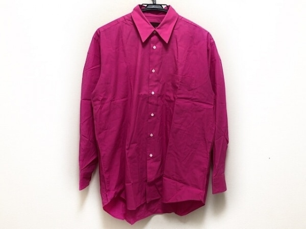 コムデギャルソンオムドゥ 長袖シャツ サイズ3 L メンズ ピンク