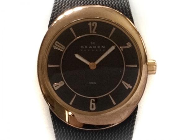 SKAGEN(スカーゲン) 腕時計美品  564XSRM レディース ダークブラウン