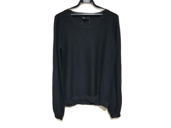 EMPORIOARMANI(エンポリオアルマーニ) 長袖セーター サイズ48 M メンズ美品  黒
