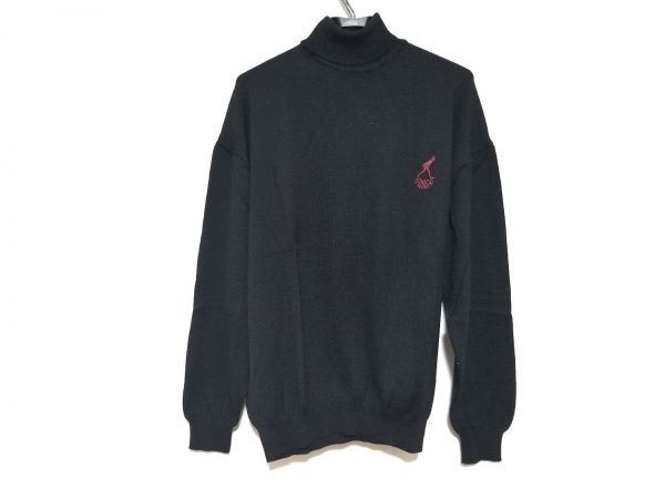 JUNIOR GAULTIER(ゴルチエ) 長袖セーター サイズ48 XL メンズ 黒