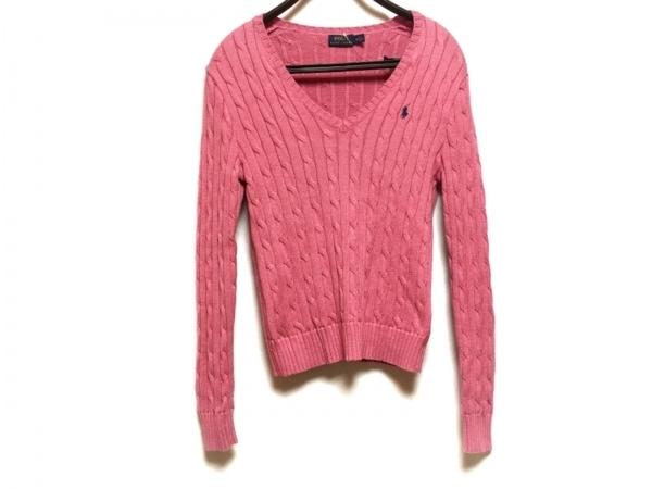 POLObyRalphLauren(ポロラルフローレン) 長袖セーター サイズM レディース ピンク