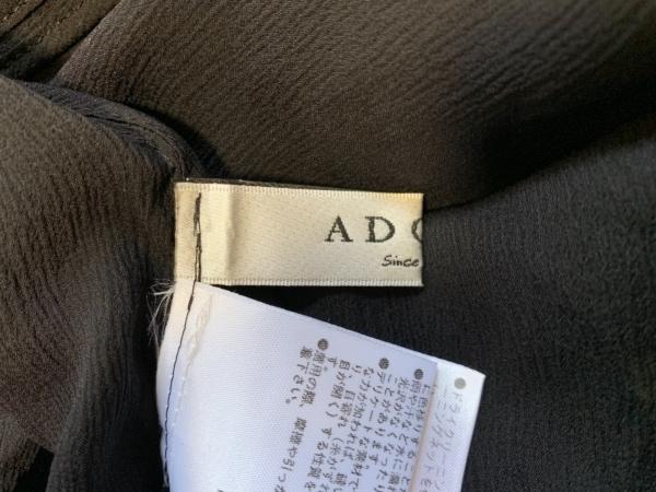アドーア カーディガン サイズ30 XS レディース 531-210848 黒 シルク/シースルー