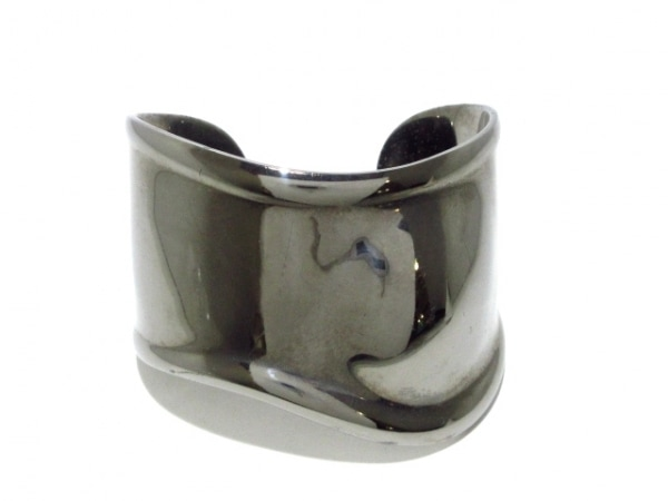 TIFFANY&Co.(ティファニー) バングル ボーンカフ 金属素材 シルバー