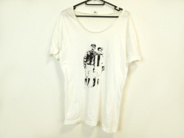 FRANK LEDER(フランクリーダー) 半袖Tシャツ サイズS レディース 白×黒