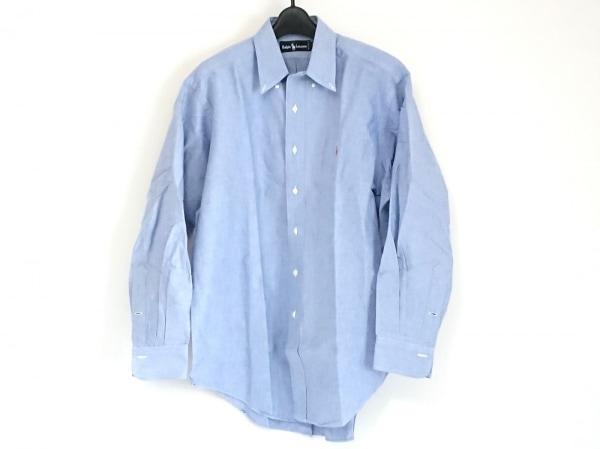 RalphLauren(ラルフローレン) 長袖シャツ メンズ美品  ライトブルー