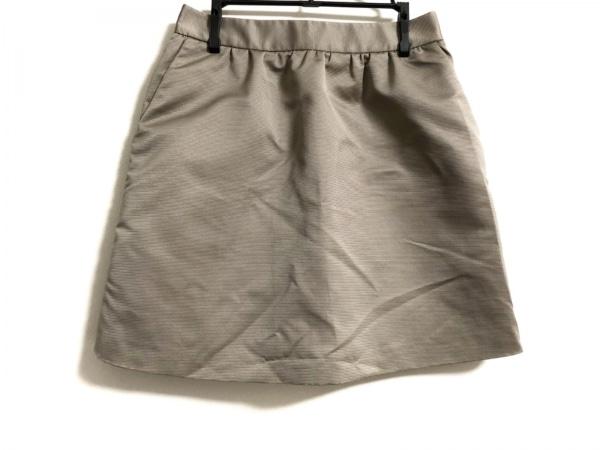 REO VALENTINO(レオ バレンチノ) スカート サイズ38 M レディース モカブラウン