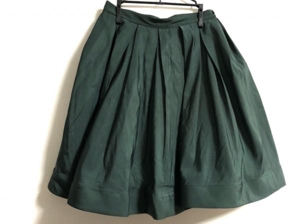 REO VALENTINO(レオ バレンチノ) スカート サイズ40 M レディース グリーン