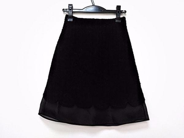 ジャンバティスタヴァリ スカート サイズ38/xxs レディース美品  黒