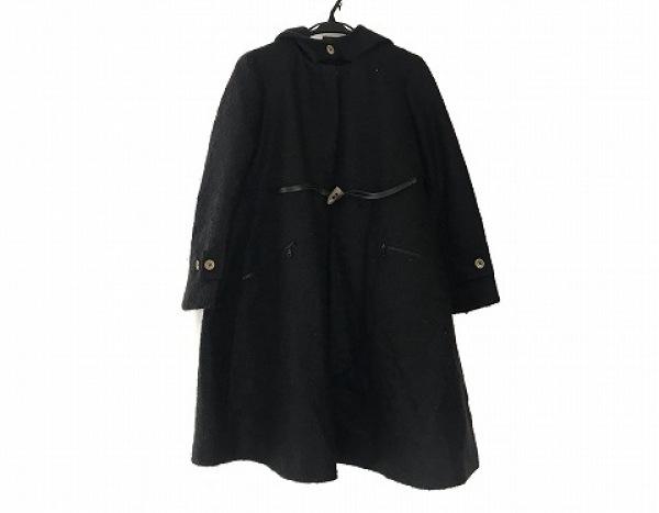 D'agilita(ダジリータ) コート サイズ38 M レディース 黒 冬物