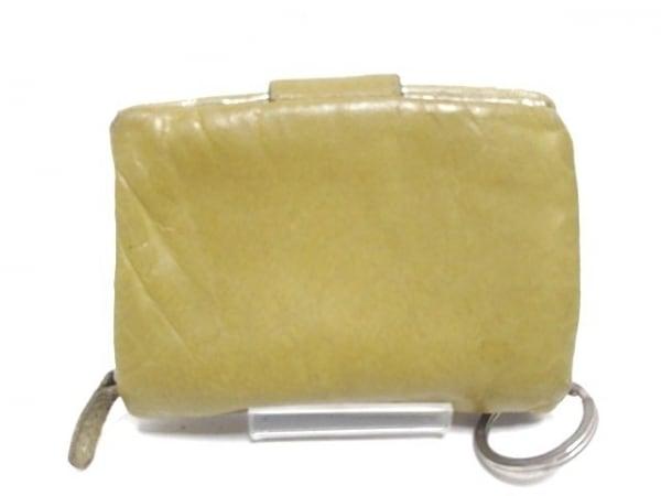 ツモリチサト 2つ折り財布 ライトグリーン×シルバー 2