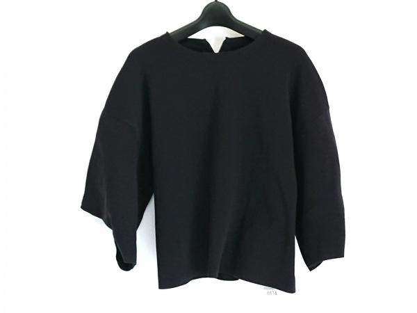 ADORE(アドーア) 七分袖セーター サイズ38 M レディース美品  黒