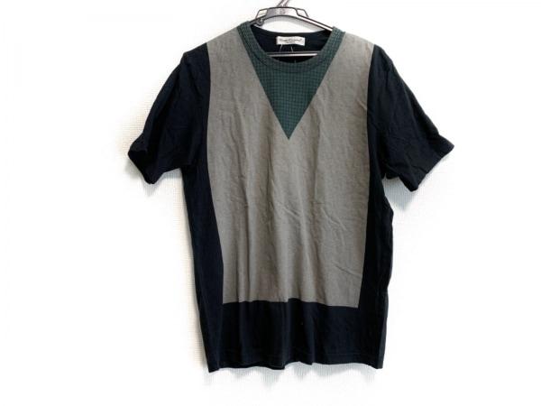 UNDERCOVERISM(アンダーカバイズム) 半袖Tシャツ サイズ2 M メンズ グレー×黒